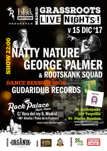 Natty Nature & George Palmer backed by Rootskank Squad (Madrid)