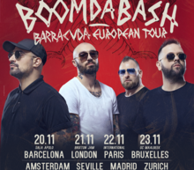 Post boomdabash barracuda eu tour2018