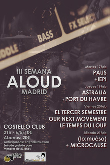 III Semana Aloud Madrid