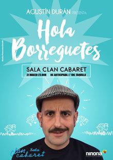 Agustín Durán. Viernes 31 de Marzo en Sala Clan Cabaret