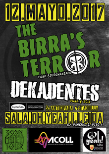The Birrra's Terror + Dekadentes