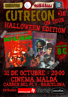 CUTRECON ON TOUR BARCELONA HALLOWEEN EDITION