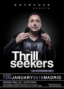 ENTRANCE 034 / WITH THRILLSEEKERS (13-01-2018)