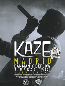 Kaze en Madrid