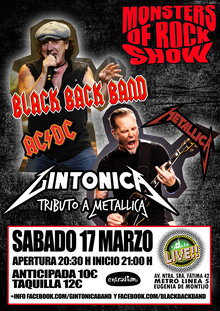 Monsters of Rock 91 (AC/DC - Metallica) en Madrid
