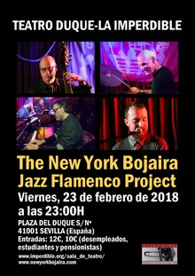 NEW YORK BOJAIRA PROJECT Jazz/Flamenco