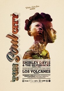 TGN SOUL CITY 2018: Shirley Davis & The Silverbacks + Los Volcanes