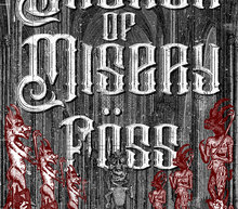 Poster church of miseryweb print