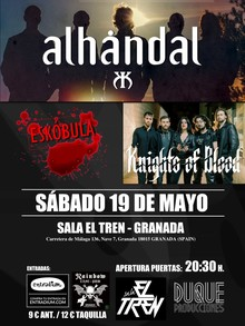 Alhandal + knights of blood + Eskobula