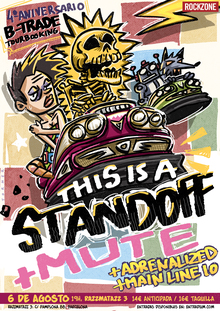 This Is A Standoff + Mute + Adrenalized + Main Line 10 en Barcelona (Razzmatazz 3)