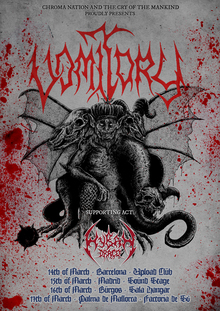 Vomitory · Hyban Draco · Human Carnage - Barcelona 2019
