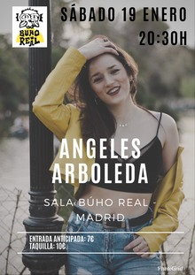 Angeles Arboleda en el Búho Real
